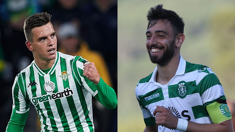 Tottenham remain in the hunt to sign Giovani Lo Celso and Bruno Fernandes before 5pm on August 8