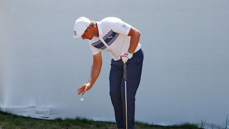 Bryson DeChambeau came under criticism for slow play during the Northern Trust