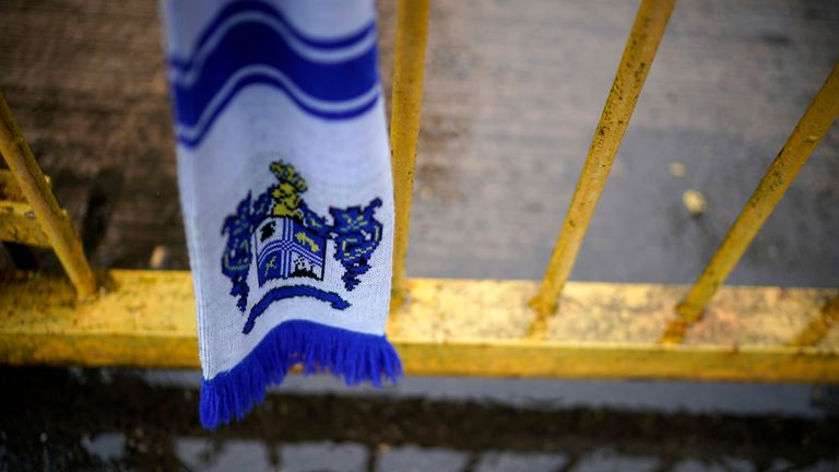 Bury were expelled from the English Football League earlier this season