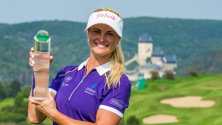 Booth had not won on the Ladies European Tour since 2012