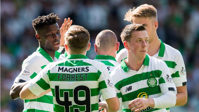 Vakoun Bayo netted a brace on his full Celtic debut