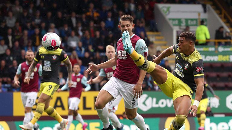 Che Adams had an early chance to put Southampton ahead