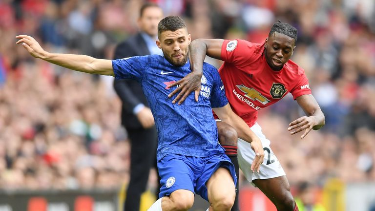 Aaron Wan-Bissaka will feature against his old side on Saturday