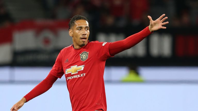 Chris Smalling is close to leaving United on loan after nine years at the club