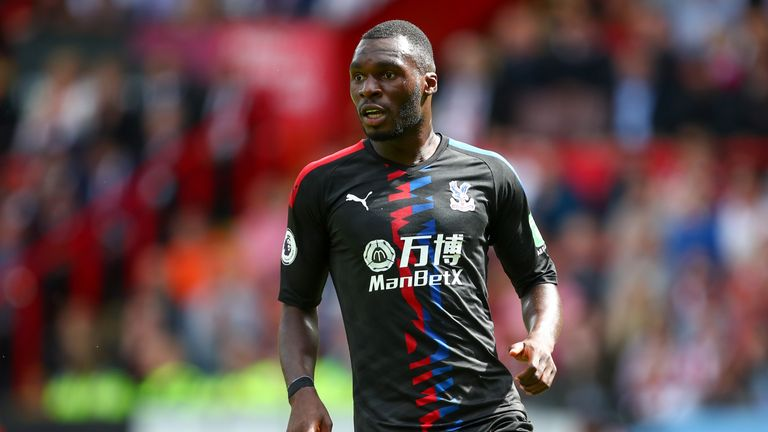 Christian Benteke and James Tomkins in Crystal Palace contract talks