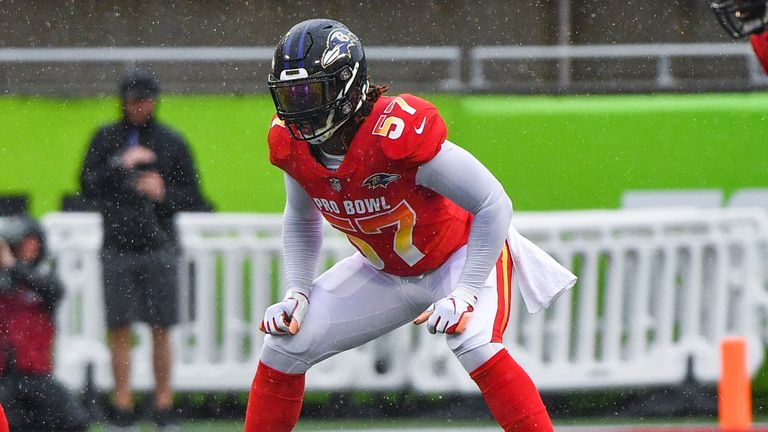 C.J. Mosley made the Pro Bowl four times while with the Baltimore Ravens