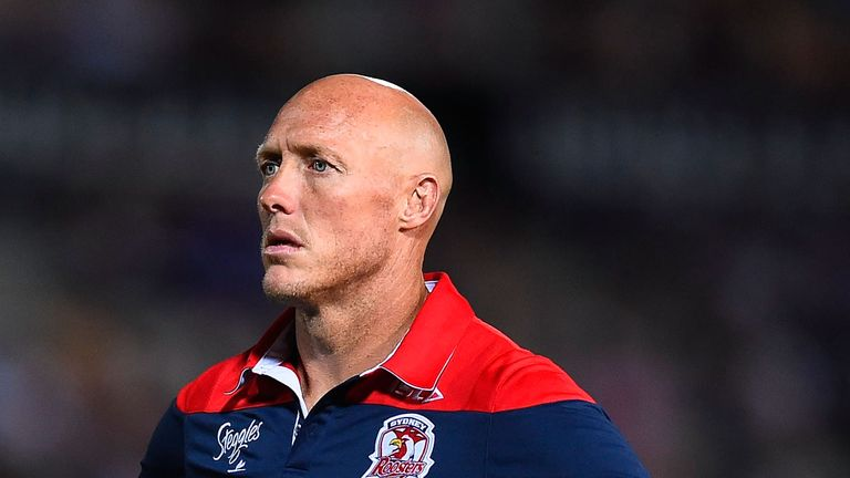 Roosters assistant coach Craig Fitzgibbon has been linked with replacing Nathan Brown at the Knights