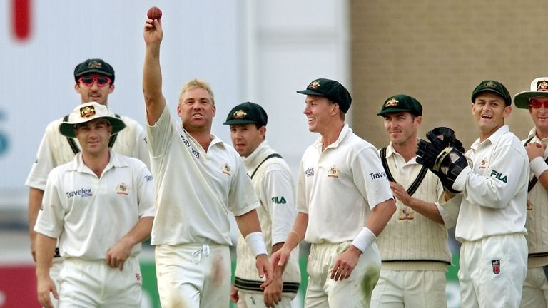 Shane Warne helped Australia to Ashes success in England in 2001