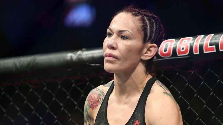 Samoa Joe and Sonya Deville would welcome former UFC champion Cris Cyborg in WWE