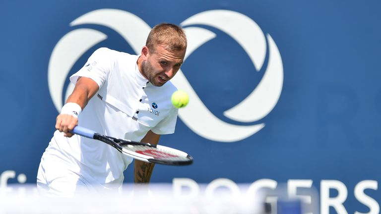 Dan Evans caused problems for Rafael Nadal but wasn't able to prevail