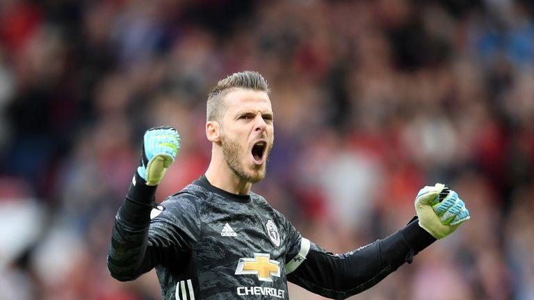 David de Gea: Manchester United goalkeeper signs contract extension