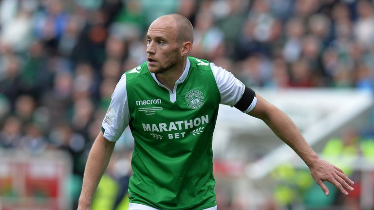 Hibernian captain David Gray out for 12 weeks with knee injury