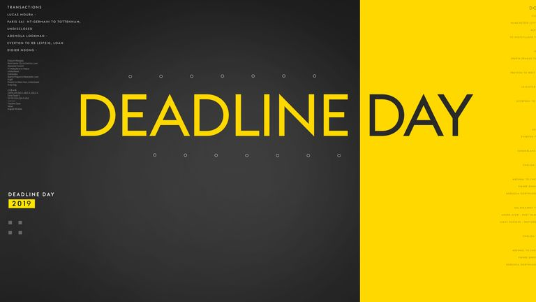 Time is running out for clubs in England to get their transfer business done. Here's everything you need to know about Deadline Day...