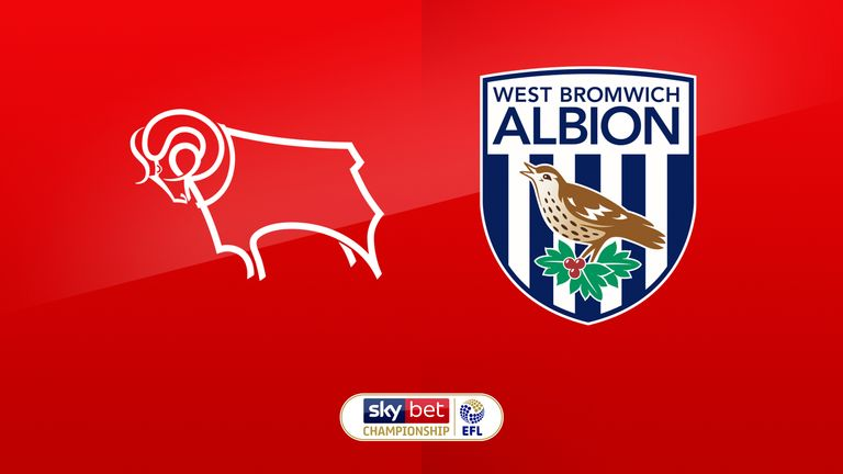 Derby vs West Brom preview: Championship clash live on Sky Sports Football