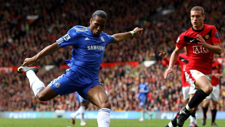 Didier Drogba's goal in Chelsea's 2-1 win over Man Utd in 2010 was pivotal, but also offside