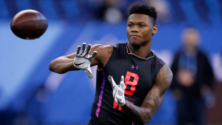 With a 4.34-second 40-yard dash at the NFL Scouting Combine, Chark pushed himself up draft boards