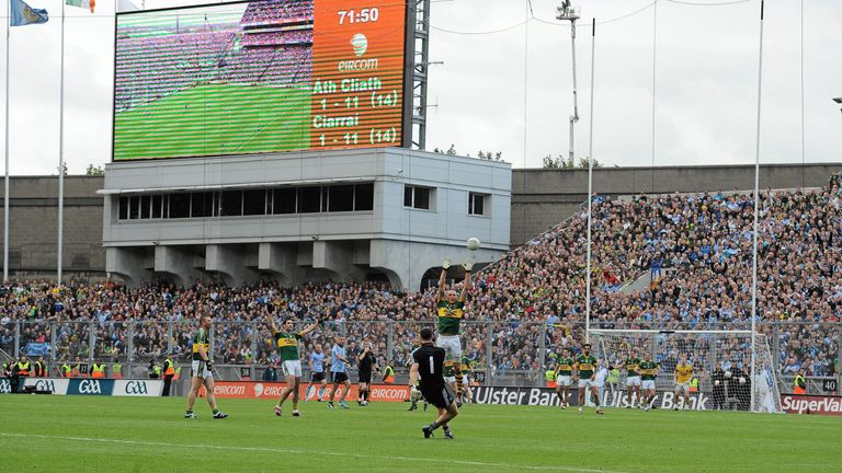 Stephen Cluxton's late free tipped the balance