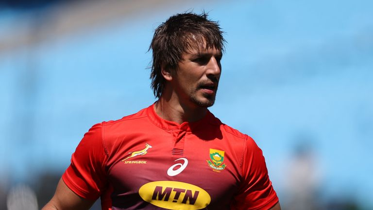 Eben Etzebeth says the claims are 'completely untrue and unfounded'