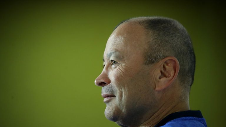 Rugby World Cup is our Everest, says England's Eddie Jones