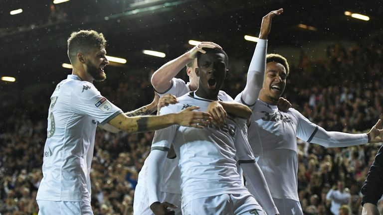 Leeds moved back to the top of the Sky Bet Championship