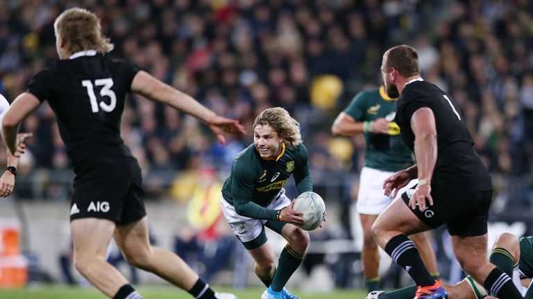 Faf de Klerk's speed is crucial for South Africa