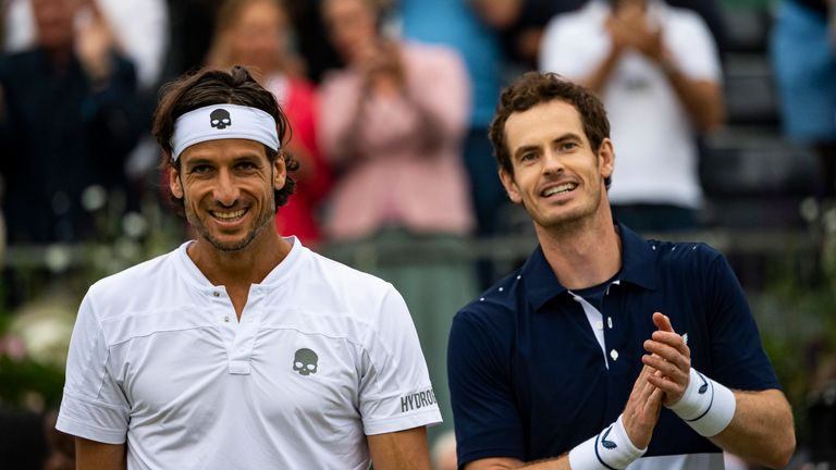 Feliciano Lopez and Andy Murray will hope for more doubles success at the Rogers Cup