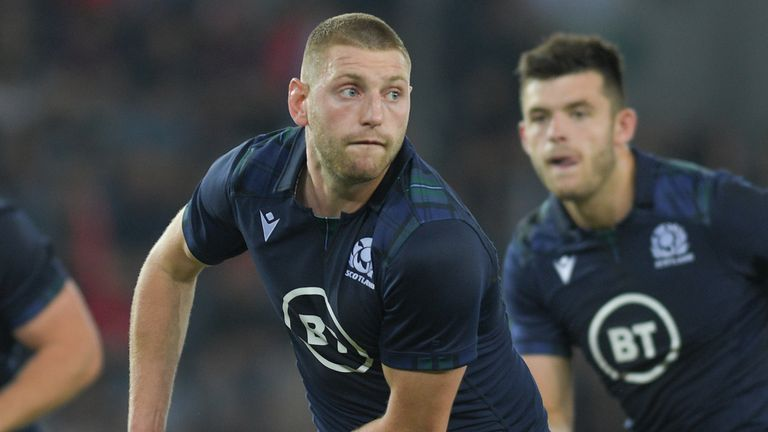Finn Russell has urged Scotland not to let anger over the Ireland defeat affect their approach to the Samoa game