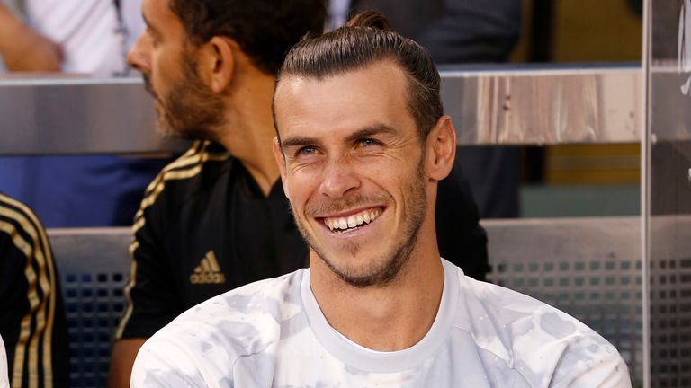 Gareth Bale could feature against Roma