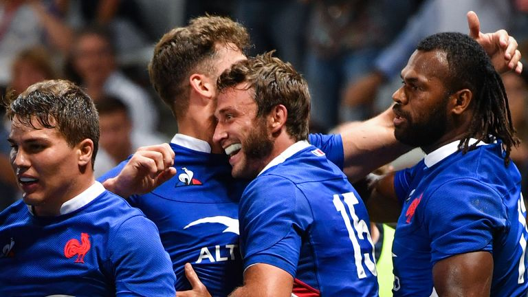 France 32-3 Scotland: Les Bleus destroy Scots in Nice