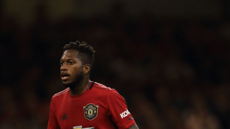 Manchester United midfielder Fred has found himself on the periphery this season