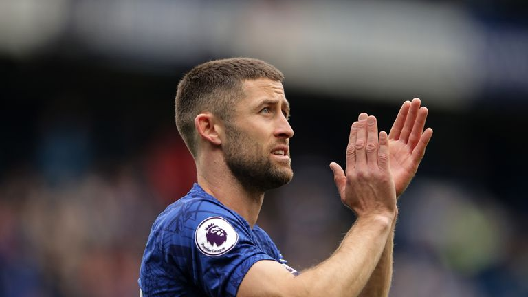 Defender Gary Cahill joined Crystal Palace
