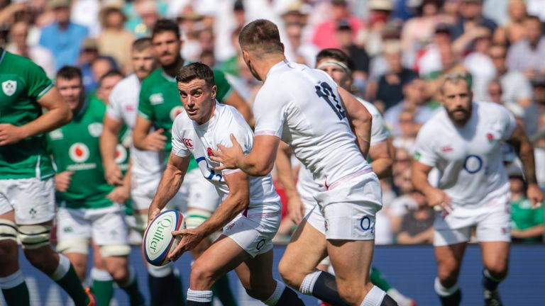 George Ford and Owen Farrell linked well at Twickenham