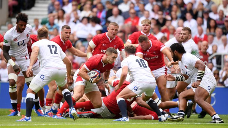 George North scored early in the second half to help Wales claw back the deficit