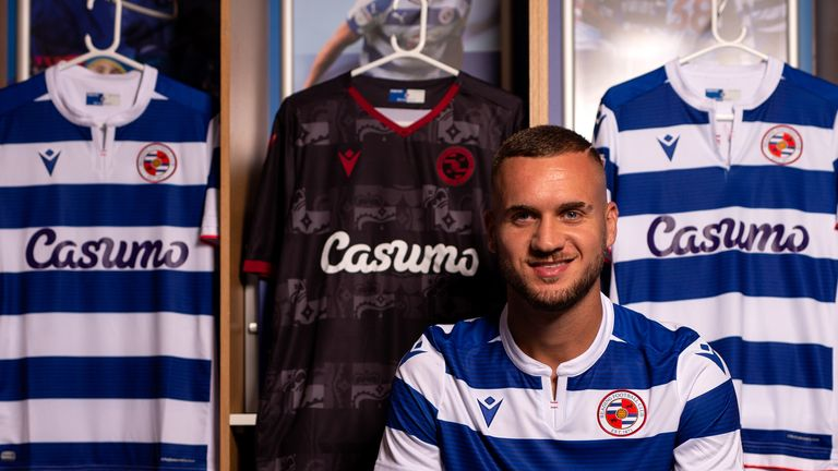 George Puscas was signed by Reading in a club-record deal