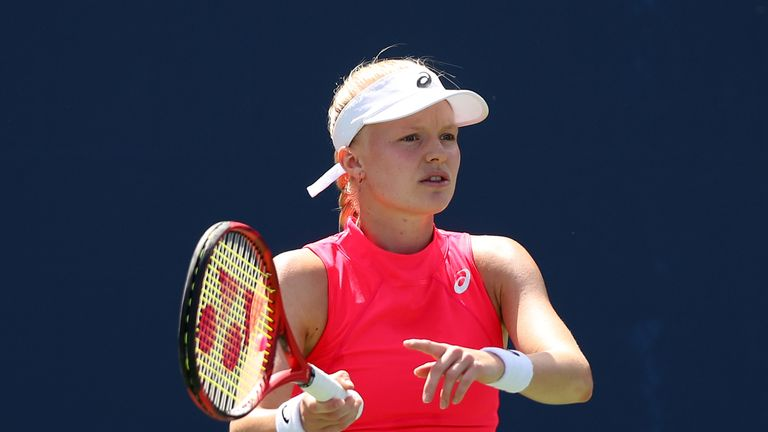 Harriet Dart comes through qualifying at the Australian Open
