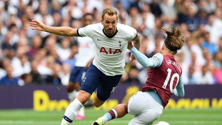Harry Kane is played every minute in the Premier League this season