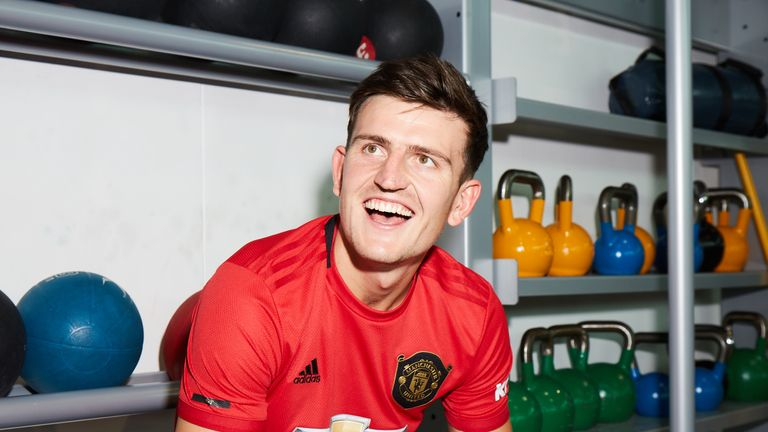 Maguire joined Man Utd from Leicester in August