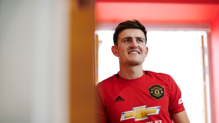Harry Maguire joined Manchester United for £80m on Monday