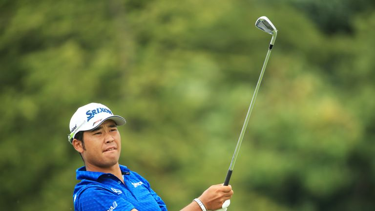 Matsuyama also carded a nine-under 63 on Friday, which was the course record until Thomas' 61 a day later