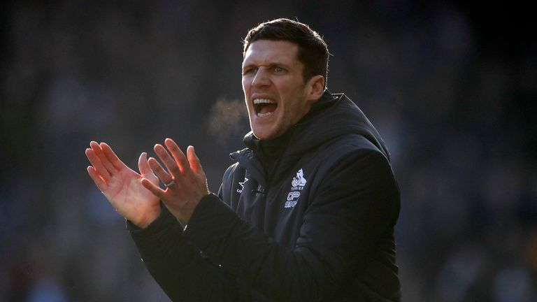 Mark Hudson has expressed his desire to become the permanent boss at the John Smith's Stadium