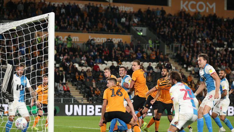 Hull 0-1 Blackburn: Derrick Williams header beats Tigers