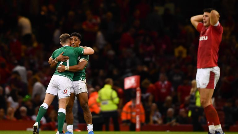 Ireland clinched a much-needed victory, while a much-changed Wales lost at home for the first time since 2017