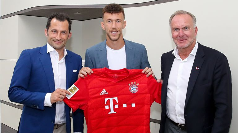 Ivan Perisic has completed a season-long loan to Bayern Munich