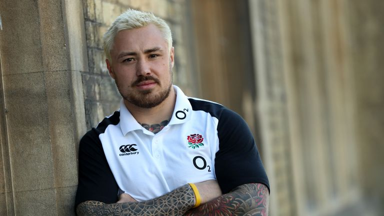 Jack Nowell is hoping to be fit for England's match against Italy