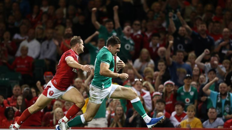 Ireland recovered from their annihilation at Twickenham to beat Wales in Cardiff