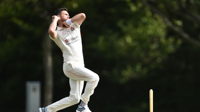 James Anderson has been ruled out of the rest of the series to injury