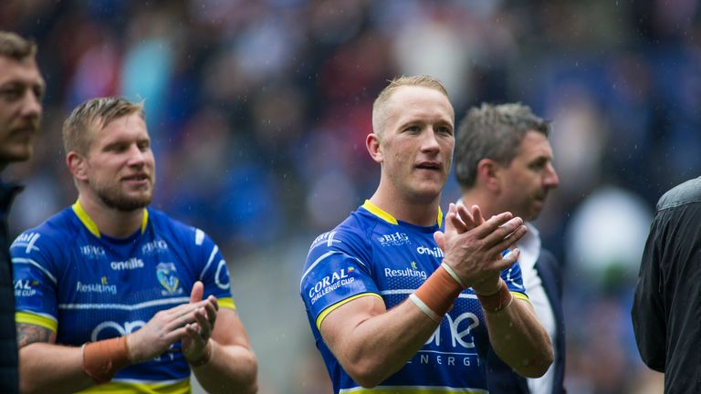 Jason Clark has a Challenge Cup final to look forward to in his first year with Warrington