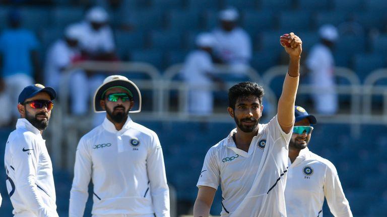 Jasprit Bumrah is India's highest-ranked Test bowler
