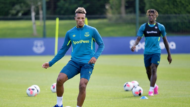 Jean-Philippe Gbamin is keen to win silverware at Everton after joining from German side Mainz