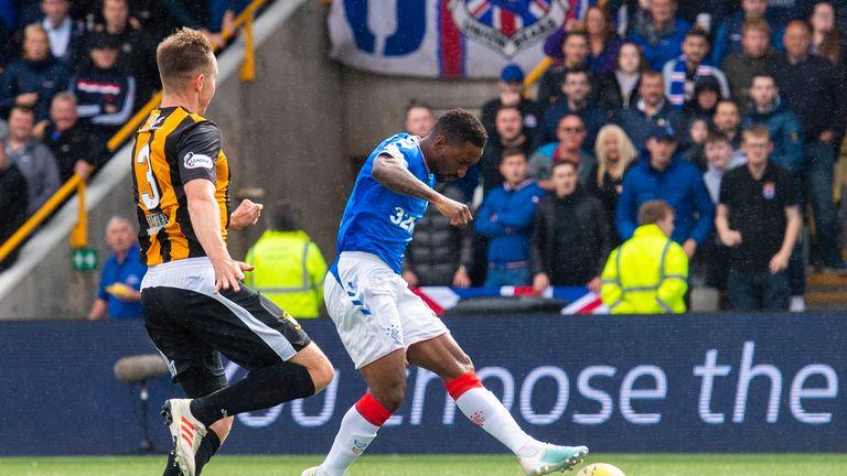 Jermain Defoe scored the first goal for Rangers